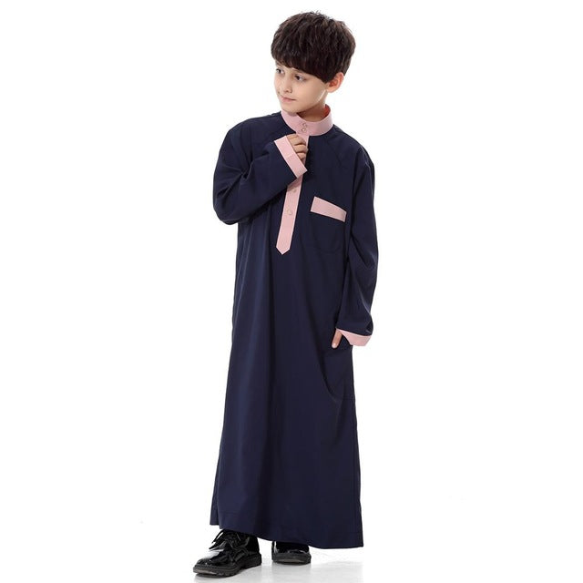 Kidlove Kids Muslim Traditional Stylish, Dark blue / 10T, Dark blue, 10T, [option3] - anythinganyware