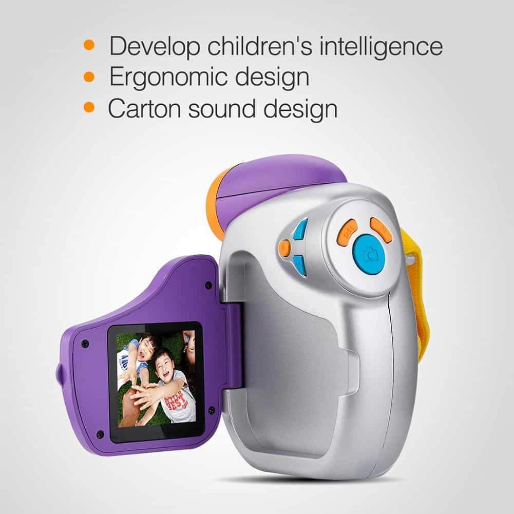 Kids Camera DVC-7CAM Kids Digital Video, as shown / Bundle1, as shown, Bundle1, [option3] - anythinganyware