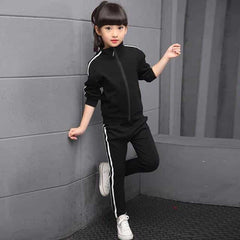 Kids Clothes Set Spring Autumn Girls Boys, Black / 7T, Black, 7T, [option3] - anythinganyware