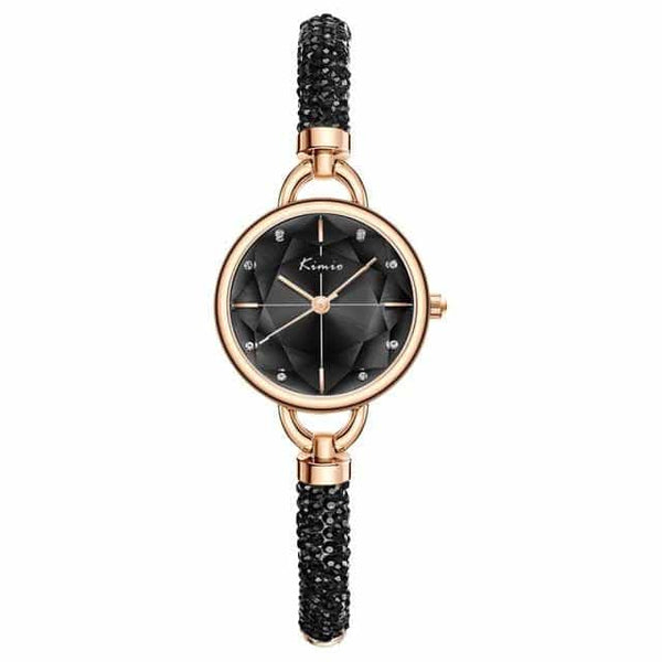 Simple Women Bracelet Watch Ladies, black watch, black watch, [option2], [option3] - anythinganyware