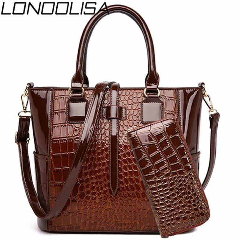 2 Sets Luxury Alligator Bag Women, [variant_title], [option1], [option2], [option3] - anythinganyware