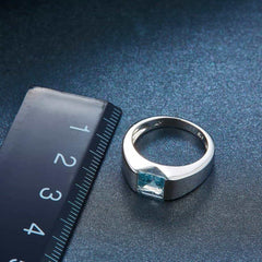 Sterling Silver Ring Gemstone Fine Jewelry, [variant_title], [option1], [option2], [option3] - anythinganyware