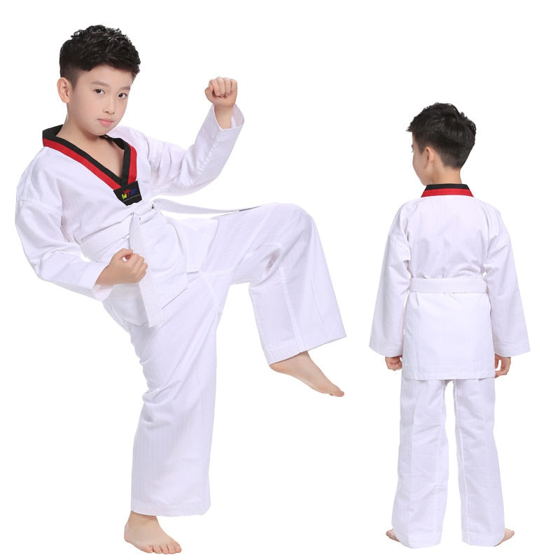 Long Sleeve Kids Taekwondo Uniform Boys, [variant_title], [option1], [option2], [option3] - anythinganyware