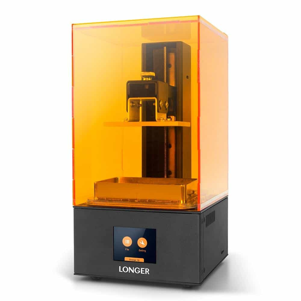 Longer Orange 10 LCD 3D Printer, UK Plug with Resin, UK Plug with Resin, [option2], [option3] - anythinganyware
