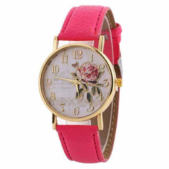 New Arrival Rose Pattern Watches, 9191 rose, 9191 rose, [option2], [option3] - anythinganyware