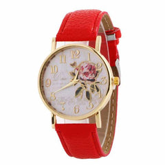 New Arrival Rose Pattern Watches, 9188 red, 9188 red, [option2], [option3] - anythinganyware