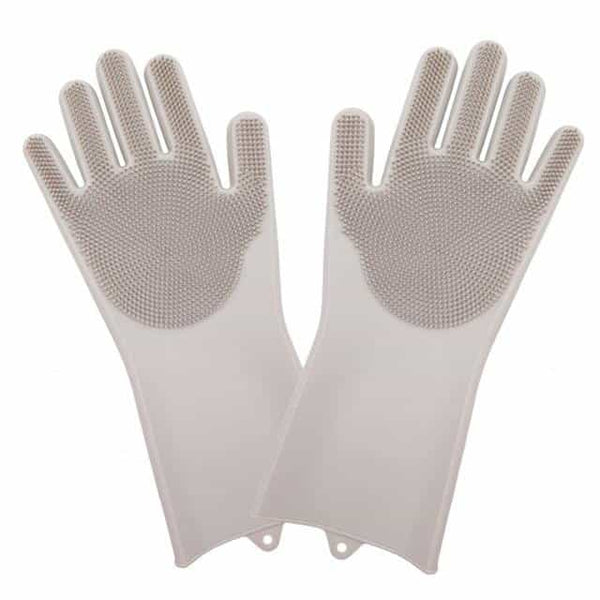 Magic Gloves Silicone Kitchen Gloves, Gray a pair, Gray a pair, [option2], [option3] - anythinganyware