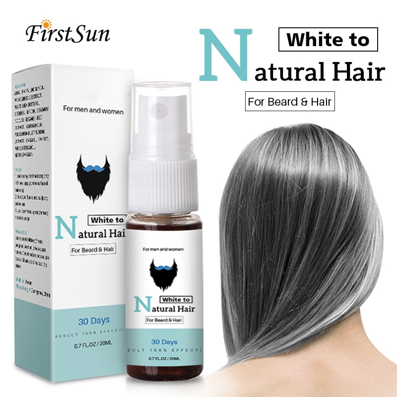 Magical Herbal Cure White Hair Treatment Spray, [variant_title], [option1], [option2], [option3] - anythinganyware