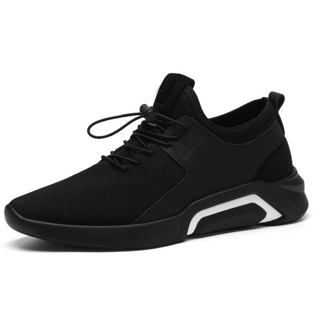 Male Shoes Adult Men Sneakers Breathable Mesh Men Casual Shoes, TLKwhite / 8.5, TLKwhite, 8.5, [option3] - anythinganyware