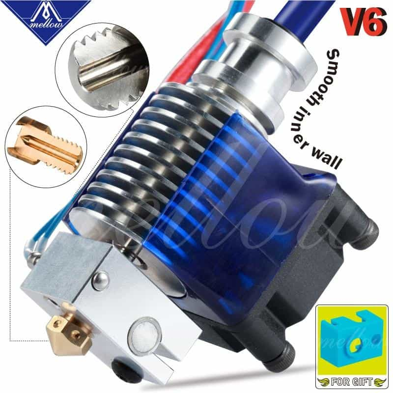 Top Quality All Metal V6 J-head Hotend Bowden Extruder Kit, 4.1mm / 24V, 4.1mm, 24V, [option3] - anythinganyware