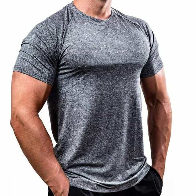 Men T Shirts Summer Sports Running Top Tees Mens, 2 / XXXL, 2, XXXL, [option3] - anythinganyware