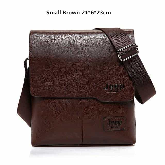 Men Tote Bags Set JEEP BULUO Famous Brand New Fashion, Small Brown, Small Brown, [option2], [option3] - anythinganyware