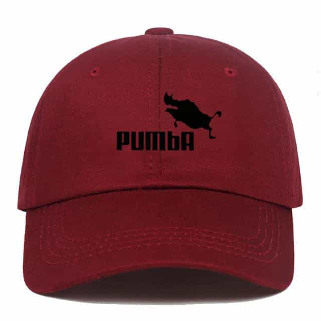 Men and women homme Pumba Baseball caps, wine red, wine red, [option2], [option3] - anythinganyware