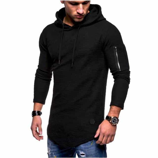 Men's Bamboo Fiber T Shirt Men's, Black / M / China, Black, M, China - anythinganyware