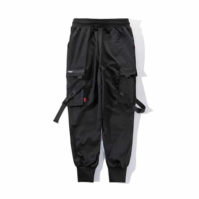 Men's trousers brand black street dance pants, Black / M / China, Black, M, China - anythinganyware