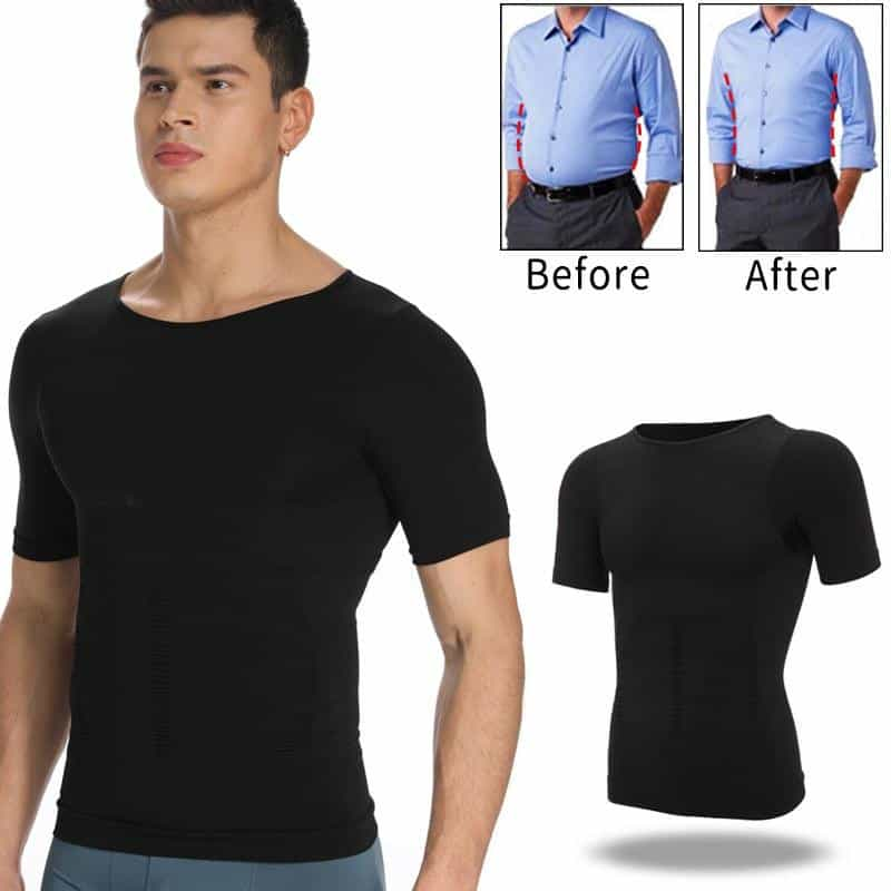 Mens Body Shaper Belly Control Shapewear, [variant_title], [option1], [option2], [option3] - anythinganyware