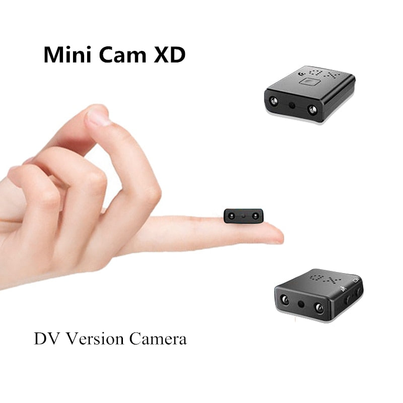 Mini Camera Full HD 1080P Mini Camcorder Night Vision, [variant_title], [option1], [option2], [option3] - anythinganyware