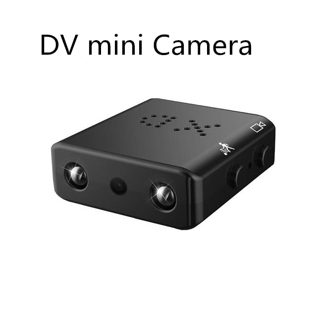 Mini Camera Full HD 1080P Mini Camcorder Night Vision, DV-XD Cam / Cam add 32g sd card, DV-XD Cam, Cam add 32g sd card, [option3] - anythinganyware