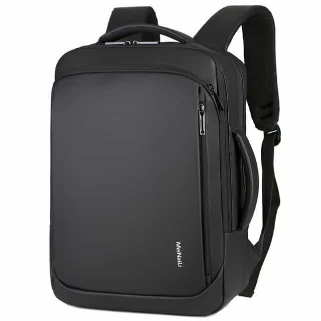 Multifunctional Laptop Backpack For Men, Black / 15.6Inch, Black, 15.6Inch, [option3] - anythinganyware