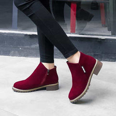 Classic Zipper Snow Ankle Boots, [variant_title], [option1], [option2], [option3] - anythinganyware