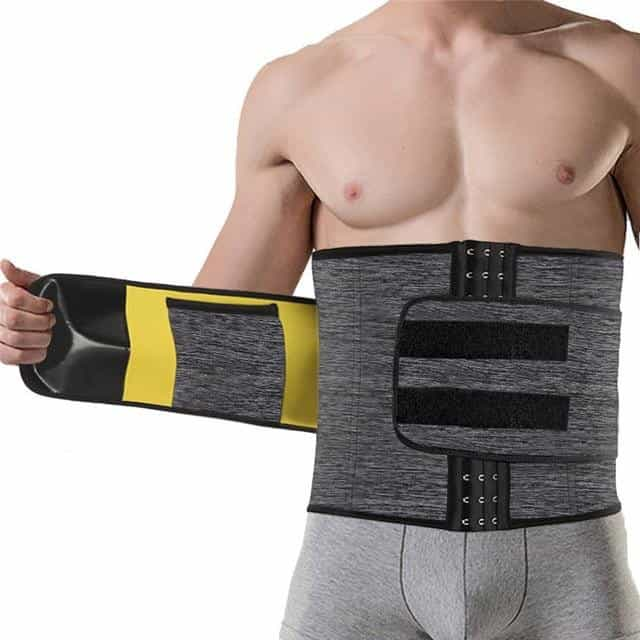 Males Modeling Belt Slimming Waist Trainer Mens, camouflage grey / XS, camouflage grey, XS, [option3] - anythinganyware