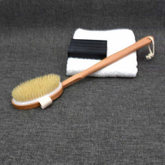 Natural Long Wooden Bristle Body Brush, [variant_title], [option1], [option2], [option3] - anythinganyware
