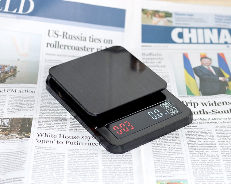 New Household Electronic Coffee Scale 0.1g Timing Kitchen Electronic, [variant_title], [option1], [option2], [option3] - anythinganyware