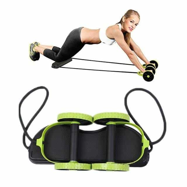 New Sport Core Double AB Roller Wheel Fitness, [variant_title], [option1], [option2], [option3] - anythinganyware