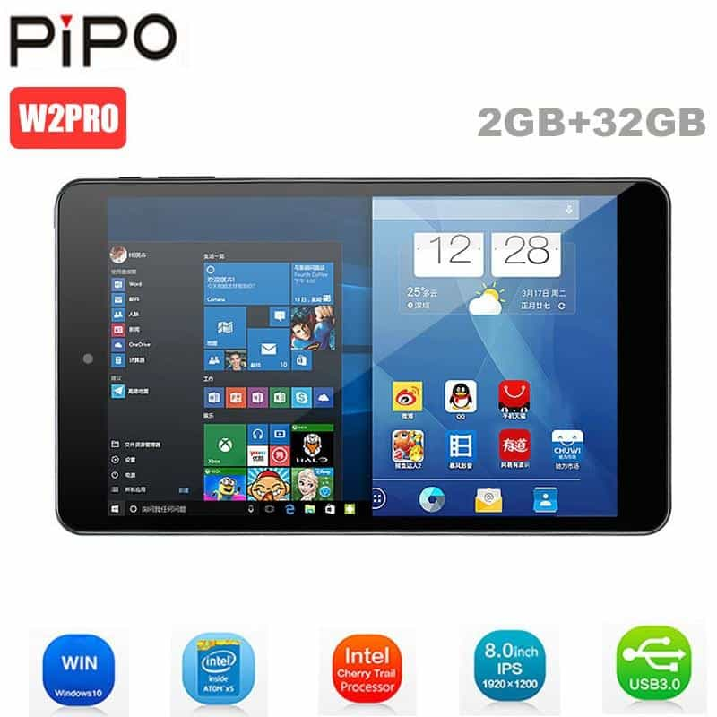 Original Pipo W2PRO Tablets PC 8 Inch Full HD IPS Screen Windows 10, Carbon Fiber Black, Carbon Fiber Black, [option2], [option3] - anythinganyware