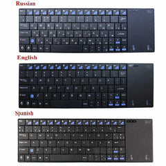 Original Rii i12plus Wireless Keyboard with Touchpad, [variant_title], [option1], [option2], [option3] - anythinganyware