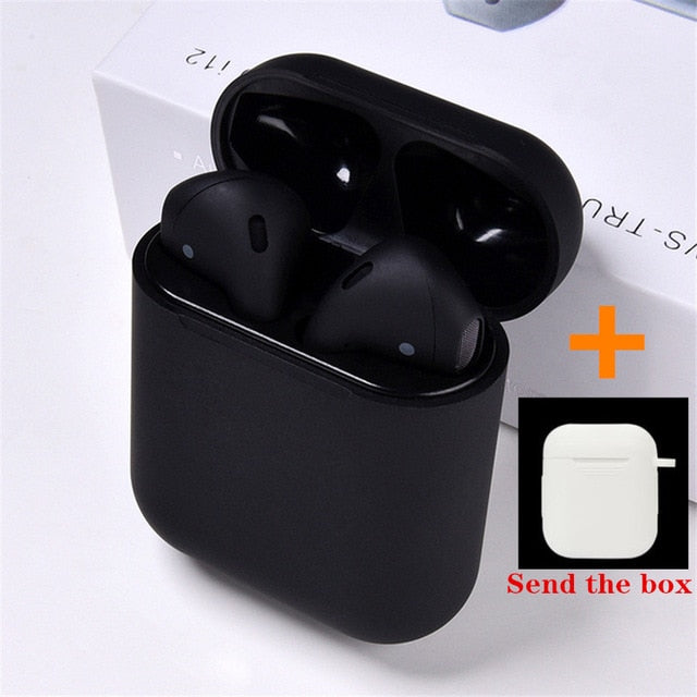 Original i12 TWS 2019 Wireless earphones, send box8 / United States9, send box8, United States9, [option3] - anythinganyware