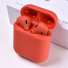 Original i12 TWS 2019 Wireless earphones, Red / China, Red, China, [option3] - anythinganyware