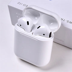Original i12 TWS 2019 Wireless earphones, White / United States, White, United States, [option3] - anythinganyware