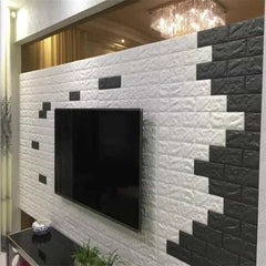 PE Foam 3D Stone Brick Panel Wall Sticker, [variant_title], [option1], [option2], [option3] - anythinganyware