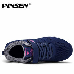 PINSEN 2019 Autumn Winter Sneakers Women Casual Shoes, [variant_title], [option1], [option2], [option3] - anythinganyware