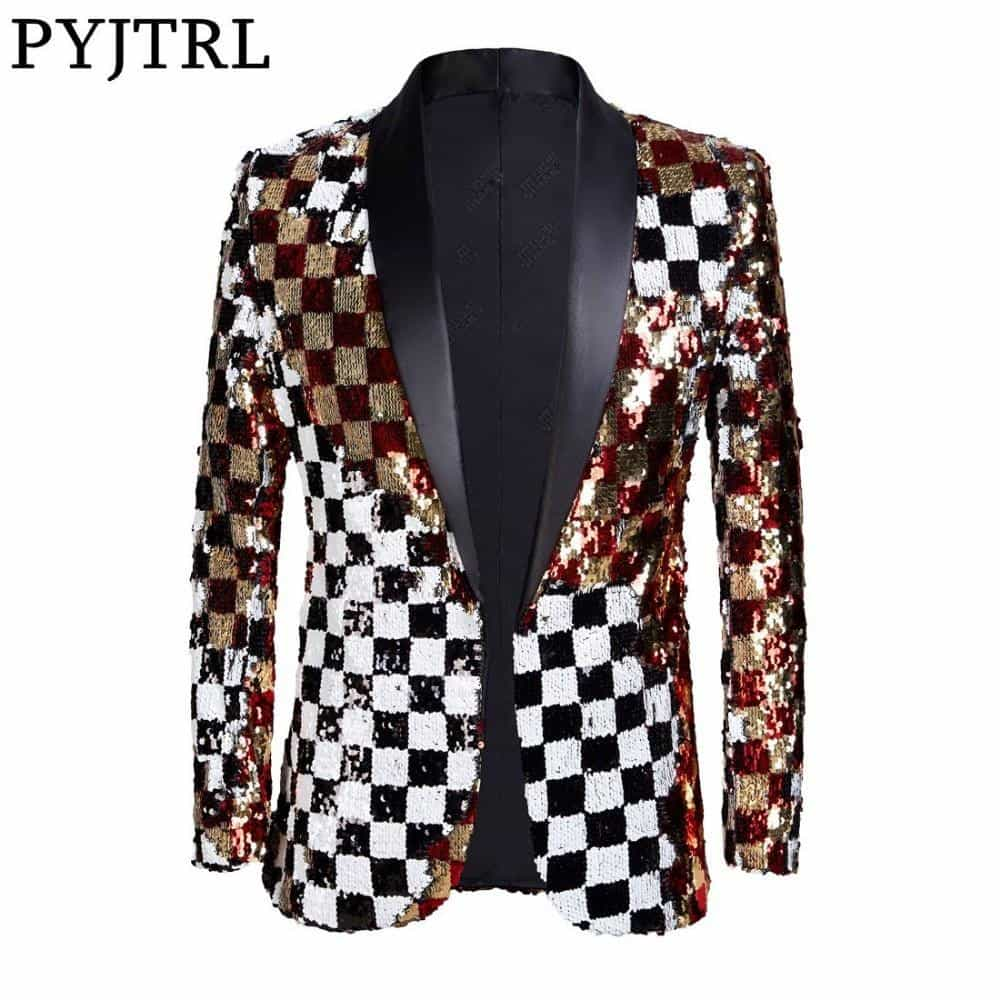 DJ Singer Suit Jacket Fashion Outfit, [variant_title], [option1], [option2], [option3] - anythinganyware