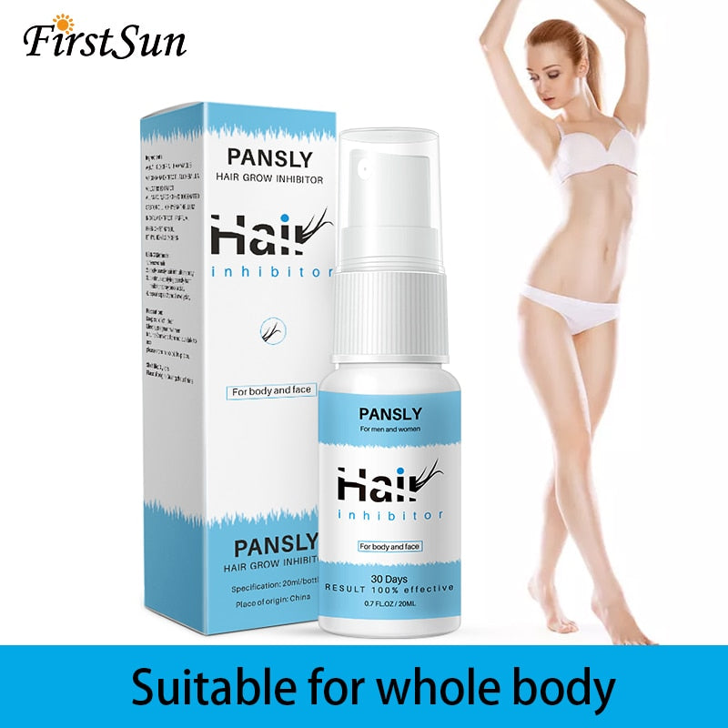 Painless Smooth Body Hair inhibitor Removal Spray, [variant_title], [option1], [option2], [option3] - anythinganyware