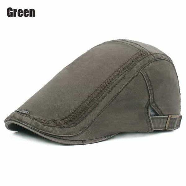 RoxCober Mens Womens Vintage Newsboy Caps, Green, Green, [option2], [option3] - anythinganyware