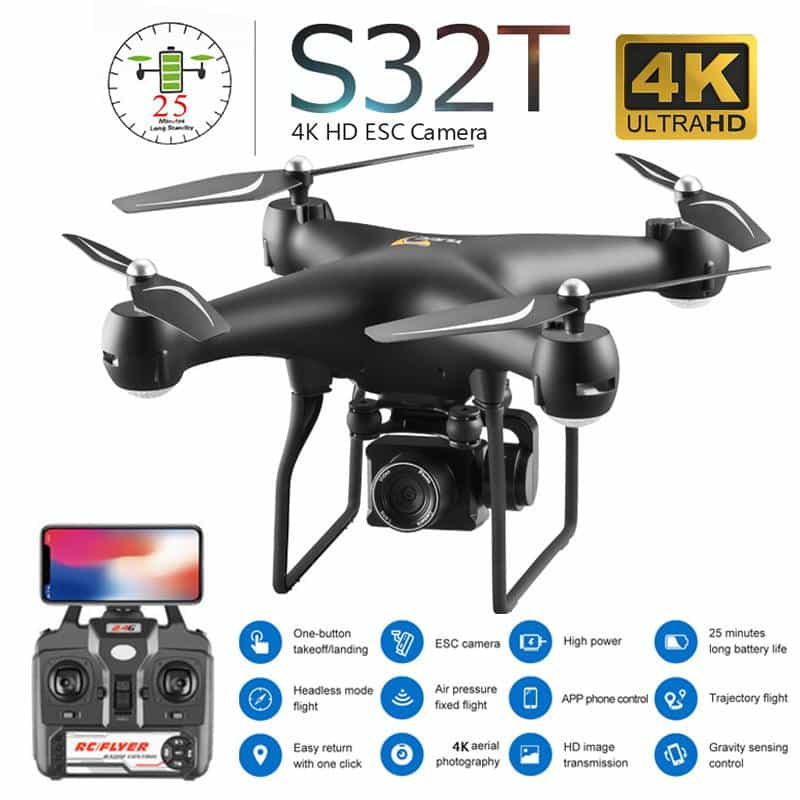 Professional Drone with Rotating ESC Camera, [variant_title], [option1], [option2], [option3] - anythinganyware