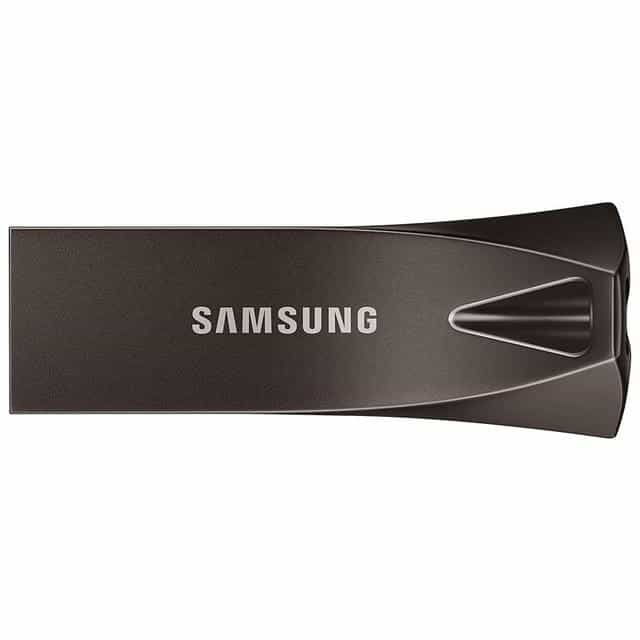 SAMSUNG BAR Plus USB Flash Drive, 32GB / Gray, 32GB, Gray, [option3] - anythinganyware