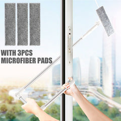 Window Squeegee Microfiber Extendable Window Scrubber Washer, DR-X93 / China, DR-X93, China, [option3] - anythinganyware