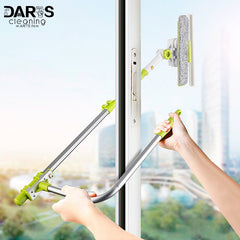 Window Squeegee Microfiber Extendable Window Scrubber Washer, [variant_title], [option1], [option2], [option3] - anythinganyware