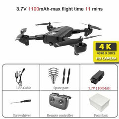 SG900 Wifi RC Drone with 720P 4K HD Dual Camera, SG900-4K-Black-S, SG900-4K-Black-S, [option2], [option3] - anythinganyware