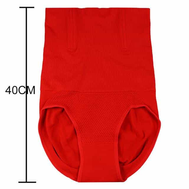 Women High Waist Shaping Panties, Red / M L, Red, M L, [option3] - anythinganyware