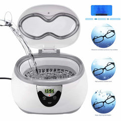 Ultrasonic Cleaner Jewelry Eyeglasses, [variant_title], [option1], [option2], [option3] - anythinganyware