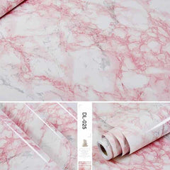 Self adhesive Marble Vinyl Wallpaper Roll Furniture Decorative Film r, DL-025 / 60cmX3m, DL-025, 60cmX3m, [option3] - anythinganyware