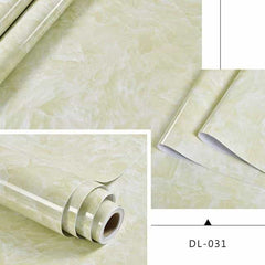 Self adhesive Marble Vinyl Wallpaper Roll Furniture Decorative Film r, DL-031 / 40cmX1m, DL-031, 40cmX1m, [option3] - anythinganyware