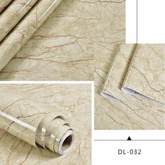 Self adhesive Marble Vinyl Wallpaper Roll Furniture Decorative Film r, DL-032 / 60cmX3m, DL-032, 60cmX3m, [option3] - anythinganyware