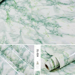 Self adhesive Marble Vinyl Wallpaper Roll Furniture Decorative Film r, DL-024 / 60cmX3m, DL-024, 60cmX3m, [option3] - anythinganyware