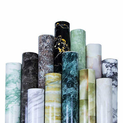 Self adhesive Marble Vinyl Wallpaper Roll Furniture Decorative Film r, [variant_title], [option1], [option2], [option3] - anythinganyware